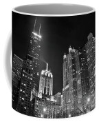 Black Night In The Windy City Coffee Mug