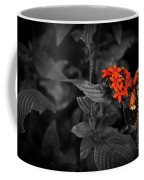 Black-orange Butterfly Coffee Mug