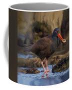 Black Oyster Catcher Coffee Mug