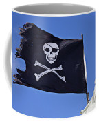 Black Pirate Flag  Coffee Mug