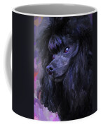 Black Poodle Coffee Mug