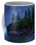 Black Rocks, Dark Sky Coffee Mug
