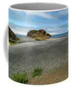 Black Sand Beach On The Lost Coast Coffee Mug