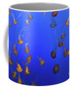 Black Sea Nettle Jellyfish - Monterey Coffee Mug