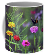 Black Swallowtail Butterfly In August  Coffee Mug