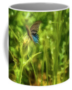 Black Swallowtail No. 2 Painterly Coffee Mug