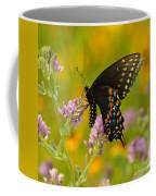 Black Swallowtail Coffee Mug by Robert Frederick
