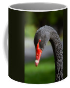 Black Swan Portrait Coffee Mug