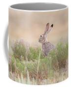 Black-tailed Jackrabbit Keeps Watch Coffee Mug