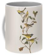 Black Throated Green Warbler Blackburnian Mourning Warbler Coffee Mug