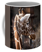 Black Tongue Of The Giraffe Coffee Mug