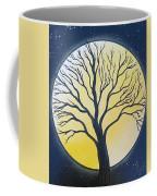 Black Tree Coffee Mug
