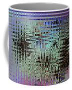 Black Walnut Ink Tepary Bean Abstract Coffee Mug