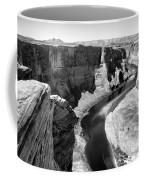 Black White Colorado River  Coffee Mug