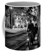 Black White Downtown Sj Trans Coffee Mug