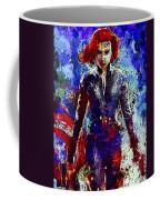 Black Widow Coffee Mug by Al Matra