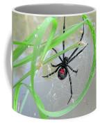 Black Widow Wheel Coffee Mug