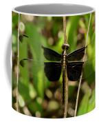 Widow Skimmer Dragonfly Female Coffee Mug