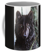 Black Wolf Coffee Mug