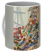 Blackbeard And His Pirates Attack Coffee Mug
