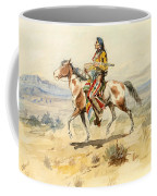Blackfoot Indian. A Crow Scout Coffee Mug