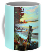 Blackie Spit Meets Mud Bay Coffee Mug