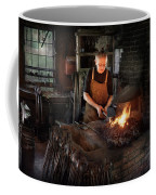 Blacksmith - Blacksmiths Like It Hot Coffee Mug by Mike Savad