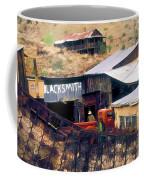 Blacksmith, Ghost Town, Jerome, Az. Coffee Mug