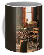 Blacksmith Shop Wheel Repair At Old World Wisconsin Coffee Mug