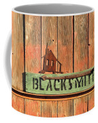Blacksmith Sign Coffee Mug