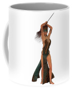 Blackthorn Rose Warrior Coffee Mug