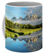 Blame It On The Tetons Coffee Mug