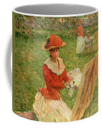 Blanche Hoschede Painting Coffee Mug