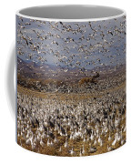 Blast Off Bosque Del Apache Coffee Mug