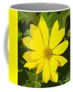 Blaze Of Yellow Coffee Mug