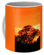 Blazing Oak Tree Coffee Mug