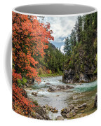 Blazing Red Mountain Maple, Greys River Coffee Mug