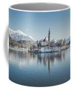Bled Island Winter Dreams Coffee Mug