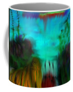 Lands Under The Sea - Abstract Landscape Coffee Mug