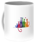 Blended Family Of Seven Coffee Mug