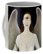 Blessed By A Winged Being Coffee Mug