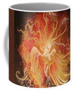Blissful Fire Angels Coffee Mug