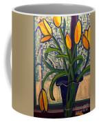 Blizzard Tulips Coffee Mug