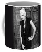 Blonde Attitude Bw Palm Springs Coffee Mug