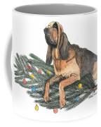 Blood Hound Christmas Coffee Mug