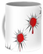 Blooded Bullet Holes Coffee Mug