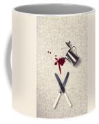 Bloody Dining Table Coffee Mug by Joana Kruse
