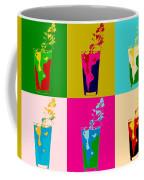 Bloody Mary Pop Art Panels Coffee Mug