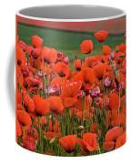 Bloom Red Poppy Field Coffee Mug