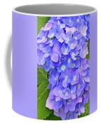 Blooming Blue Hydrangea Coffee Mug